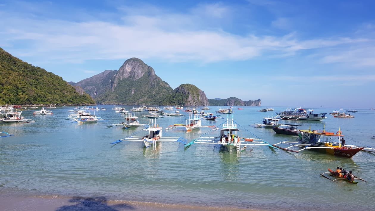 The enticing view of El Nido beachfront in Palawan. (Harthwell Capistrano / Palawan Daily News).