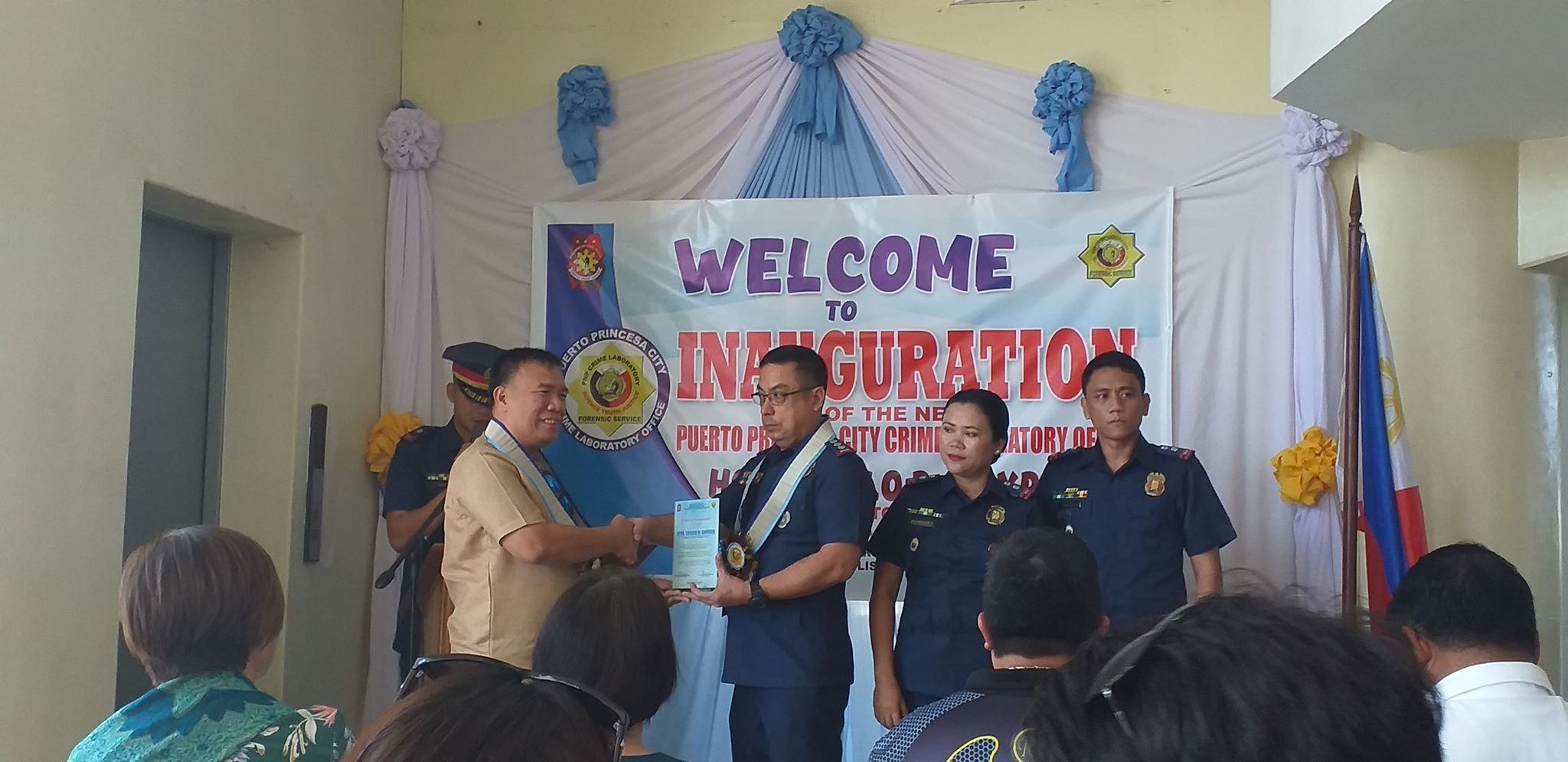 (Left to Right) Attorney Arnel Pederosa, Guest Speaker; PCLO Armando N. Pusana; and PLTC Abraham Tecson, City Cheif of PPCCLO.