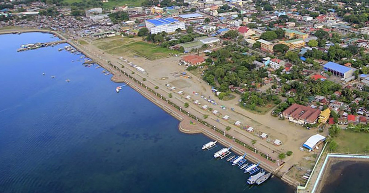 Aerial View of Puerto Princesa Bay (Baywalk) Photo from lsgardenvilla.com