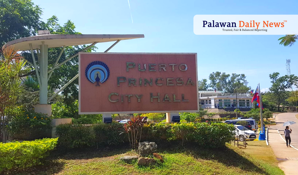 Puerto Princesa City Hall (Photo by Harthwell Capistrano / Palawan Daily News)