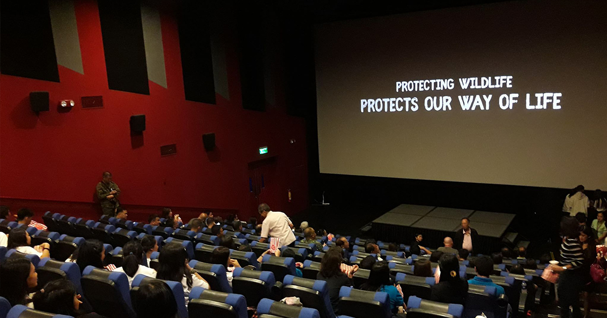 Students, government employees, uniformed personnel, visitors and PCSD Staff filled SM City Puerto Princesa Cinema 3 during the Pre-anniversary Launching Ceremony of PCSD. Photo by Peter Policarpio / Palawan Daily News