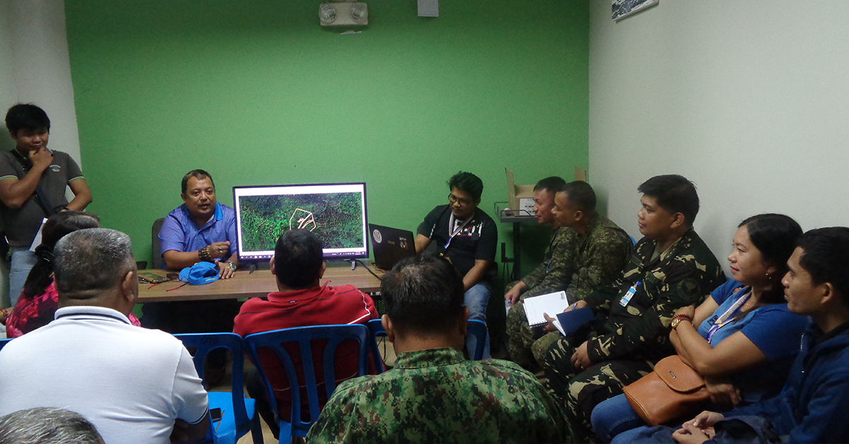 City Information Officer (CIO) Richard Ligad presided the working committees meeting in preparation for the biggest annual tree planting event, Pista Y Ang Cagueban on June 29.  Photo by Rich Reduble / Palawan Daily News