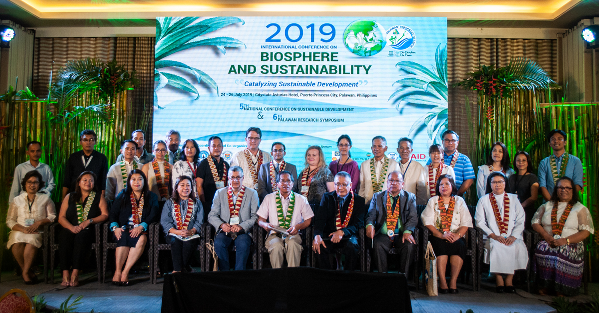 During the Biosphere and Sustainability 2019. Photo by Sevedeo Borda III / Palawan Daily News
