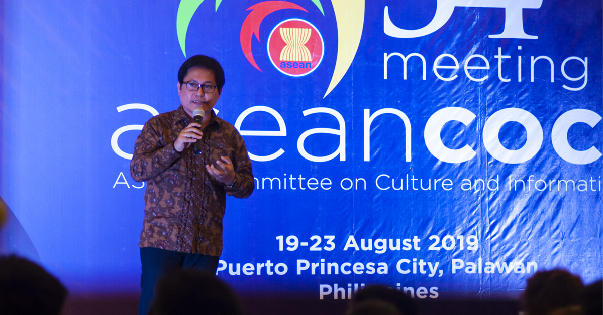 Mr. Romeo M. Montenegro, head of the Philippine Coordinating Office for BIMP-EAGA and Deputy Executive Director of Mindanao Development Authority, said during the 54th Association of Southeast Asian Nations (ASEAN) Committee on Culture and Information (COCI) meeting held at Princesa Garden Resort in Puerto Princesa City. Photo by Sev Borda III / Palawan Daily News
