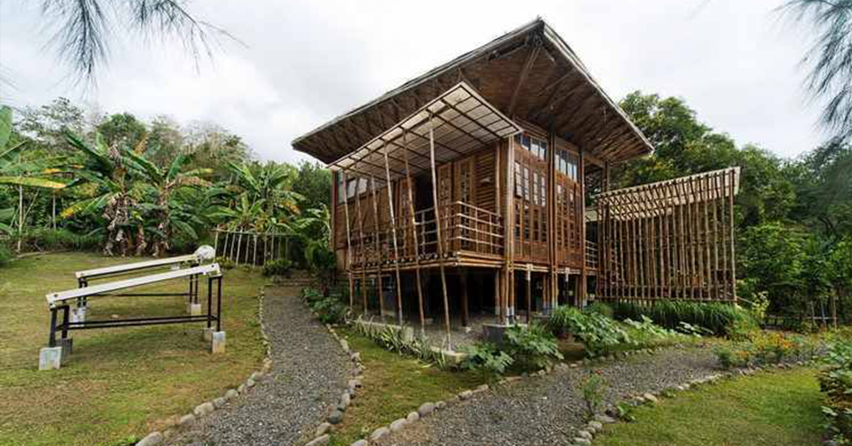 The ZCR model cottage located in Brgy. Irawan. Photos credit PCSD