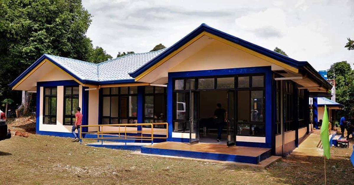 The satellite city hall in Brgy. Macarascas. A similar structure is set to open in Brgy. Napsan. Photo courtesy Puerto Princesa City Information Office