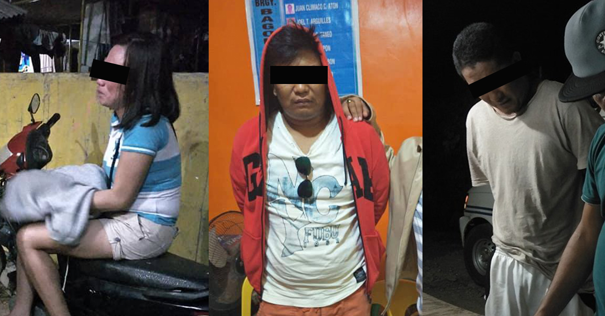 Right and Middle photo courtesy of CIO Richard Ligad; Right photo courtesy of Puerto Princesa City Police Office