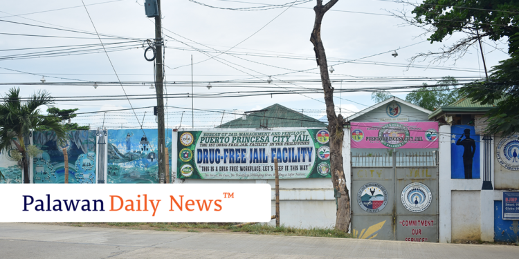 The Puerto Princesa City Jail. Photo by Eugene Murray/Palawan Daily News