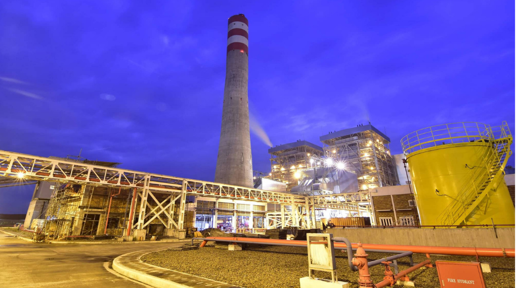 DMCI owned Sem-Calaca 900 megawatts CFB Coal-Fired Power Plant in Calaca, Batangas