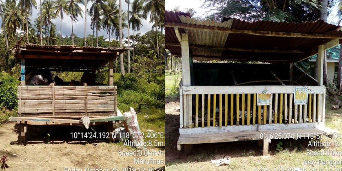 The Materials Recovery Facility or MRF of Marufinas and New Panggangan, two of the most isolated barangays in Puerto Princesa City. Photos by Gerardo Reyes Jr/Palawan Daily News