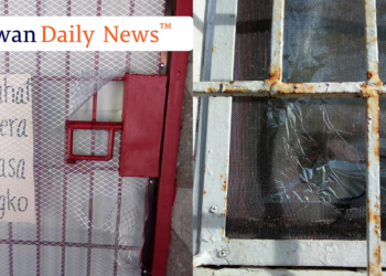 The American missionary couple's house that was broken into. Photos by Hanna Camella Talabucon/Palawan Daily News