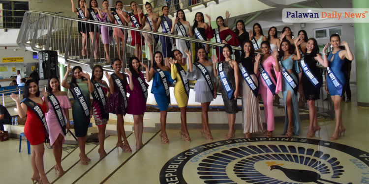 The Miss Subaraw 2019 candidates. Photo by Eugene Murray/Palawan Daily News