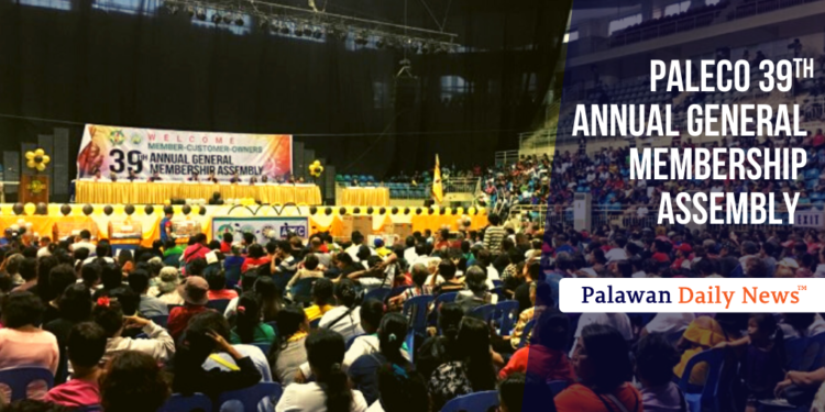 PALECO 39TH ANNUAL GENERAL MEMBERSHIP ASSEMBLY | Photo by Mike Escote / Palawan Daily News