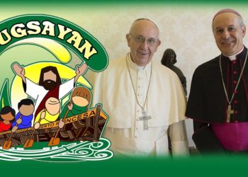 Archbishop Gabriele Giordano Caccia, Apostolic Nuncio (Right) to the Philippines is set to visit Puerto Princesa next week, to preside a Holy Mass for 6th Bugsayan on  November 30 at Puerto Princesa City Coliseum. Photo from Vatican News