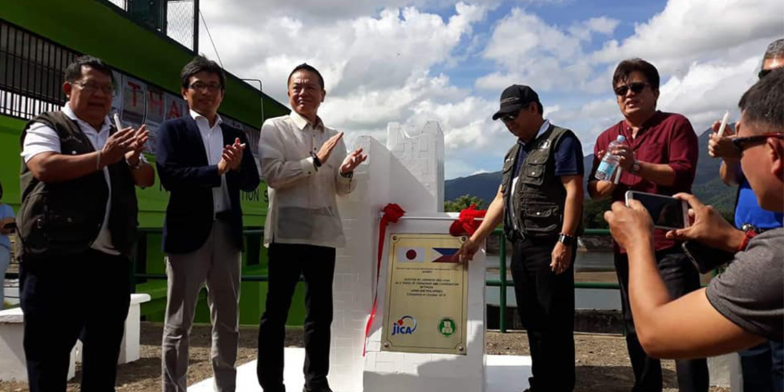 The inauguration of Malatgao River Irrigation System. Photo from Leila B. Dagot/PIA