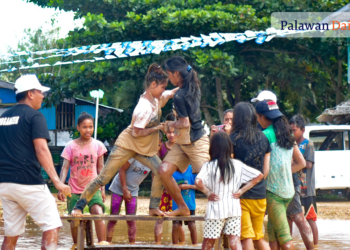 IPs compete as part of Tarabidan Ong Banwa in San Vicente, Palawan. Photo by Sev Borda III/Palawan Daily News