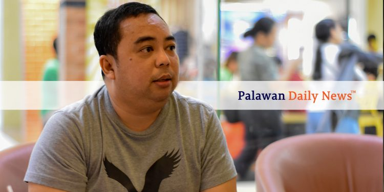 Incoming Palawan Chamber of Commerce and Industry President Jeff Armedilla.