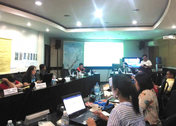 The Emergency Operations Center (EOC) of the Provincial Disaster Risk Reduction and Management Council (PDRRMC) of Palawan  (Photo courtesy of Palawan PDRRMC)