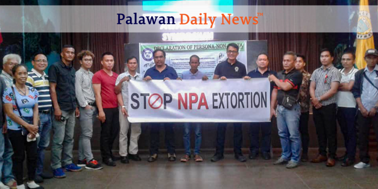 Awareness Symposium for Business Sector na isinagawa ng Palawan Task Force to End Local Communist Armed Conflict o PTF-ELCAC na isinagawa sa VJR Hall, Capitol Complex. Photo by Diana Ross Cetenta/Palawan Daily News
