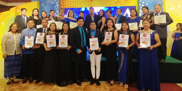 Awarding of the Brigada Eskwela 2019 Best Implementing Schools held last November 26, 2019 at the Great Eastern Hotel, Quezon City. Photo from DepEd Palawan Facebook