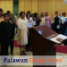 Some 38 new members of Kiwanis Club from 12 groups takes their oath as full-fledged members in a joint installation of officers and new members held last December 7 at Aziza Paradise Hotel. Photo by Evo Joel Contrivida/Palawan Daily News