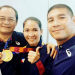Some of the Palaweño athletes who won in the 2019 SEA Games. Photo from Josie Anape Gabuco Facebook page.