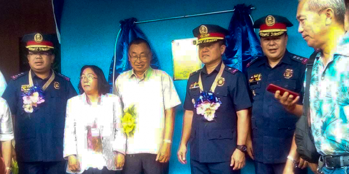 The inauguration of the First Palawan Mobile Force Company building in Sofronio Española. Photo by Ruil Valencia Alabi