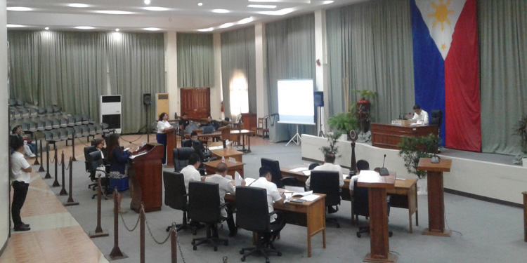 The Provincial Board session last January 21, 2020. Photo by Diana Ross Cetenta/Palawan Daily News