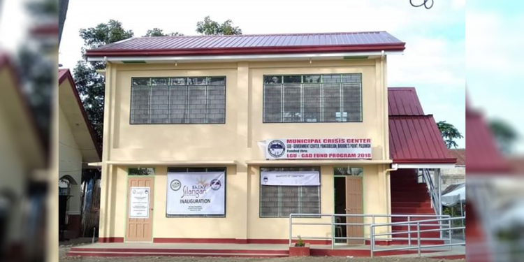 Brooke's Point town inaugurates its first Balay Silangan reformation center for drug surrenderers. Photo courtesy of Mr. Romeo Tan, Brooke's Point Municipal Advisory Council (MAC) Member