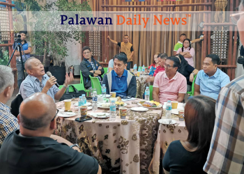 Palawan governor Jose Chaves Alvarez. Photo by Sev Borda III
