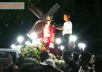 The 'Traslacion' here in Puerto Princesa that happened last year, 2019. Photo by Eugene Murray/Palawan Daily News