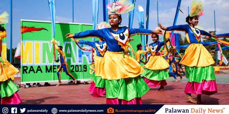 During the Pre-Opeing of MIMAROPA RAA 2019. Photo from Mimaropa Raa 2019 Facbook page