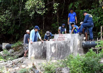 A portion of the Lucbuan Small Irrigation Project. Photo courtesy of NIA-Palawan Irrigation Management Office